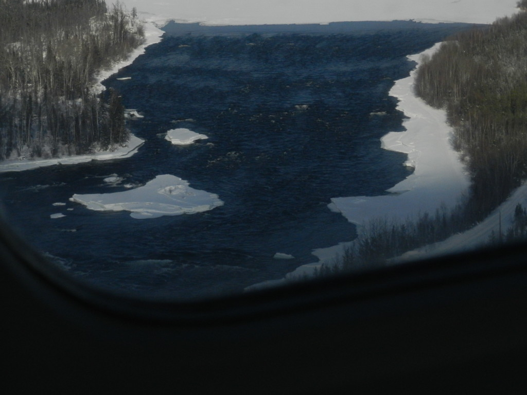 the rapids from the air