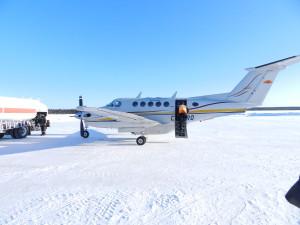 King Air twin engine turboprop